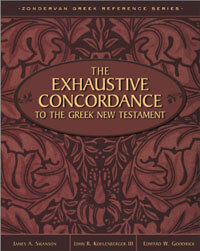 Exhaustive Concordance To The Greek NT*