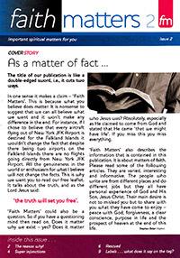 Faith Matters No.2 (Booklet)