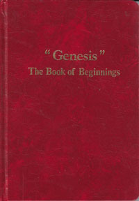 Genesis The Book of Beginnings HC-Red