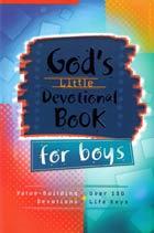 Gods Little Devotional Book for Boys