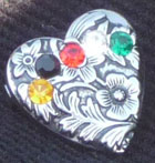 Heart Pin for Tract: 5 Secrets of the Heart