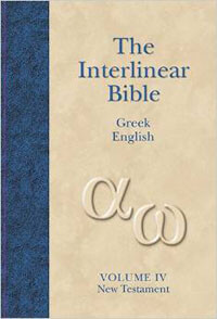Interlinear Bible Greek-English New Testament (Book 4)
