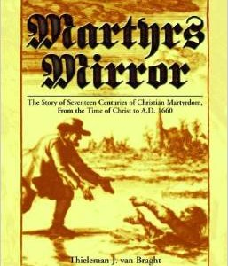 Martyrs Mirror (Cloth Cover)