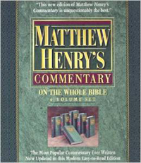 Matthew Henrys Commentary (6 Vol. Set)