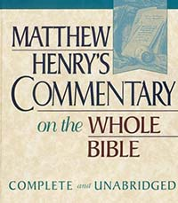Matthew Henrys Commentary on the Whole Bible (Unabridged)