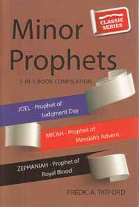 Minor Prophets Book 3 Joel Micah Zephaniah CLASSIC SERIES