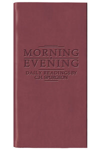 Morning and Evening (Burgundy)