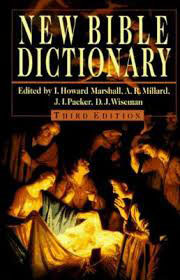 New Bible Dictionary: Third Edition