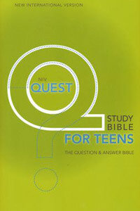 NIV Quest Study Bible For Teens HC