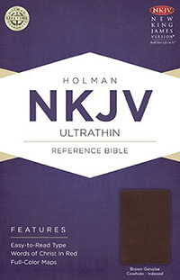 NKJV Ultrathin Reference Bible  INDEXED