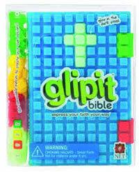 NLT glipit Bible Blue Silicone