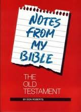 Notes from My Bible: Old Testament