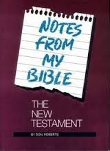 Notes from My Bible: New Testament