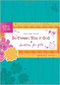 One Year Between You & God Devotions for Girls (9-14)