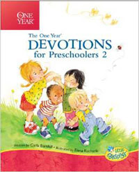 One Year Devotions for Preschoolers BOOK 2 HC