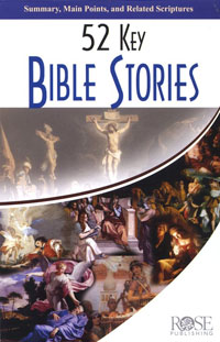 Pamphlet: 52 Key Bible Stories