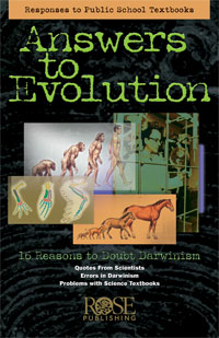 Pamphlet: Answers to Evolution