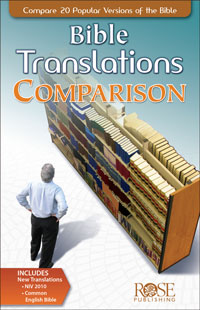 Pamphlet: Bible Translations Comparison