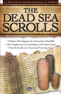 Pamphlet: Dead Sea Scrolls