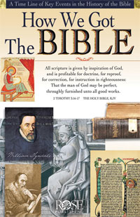 Pamphlet: How We Got the Bible