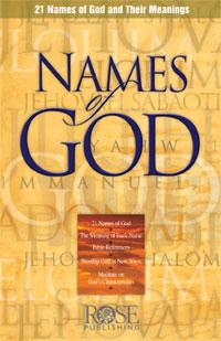 Pamphlet: Names of God