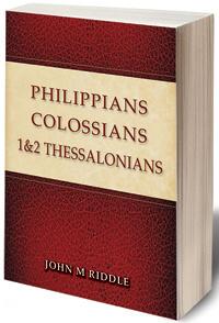 Philippians Colossians 1 & 2 Thessalonians
