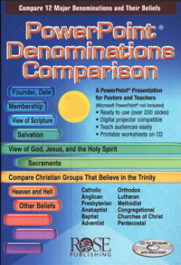 PowerPoint: Denominations Comparison