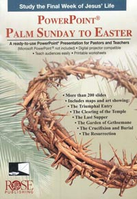 PowerPoint: Palm Sunday to Easter