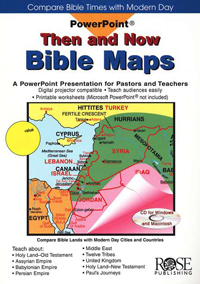 PowerPoint: Then and Now Bible Maps