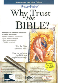 PowerPoint: Why Trust The Bible?