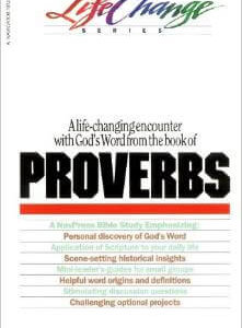 Proverbs (Life Change Series)