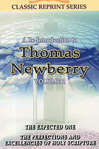Re-Introduction to Thomas Newberry Vol 2 CLASSIC SERIES
