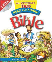 Read and Share Ultimate DVD Bible Vol 1 (with 2 DVDs)