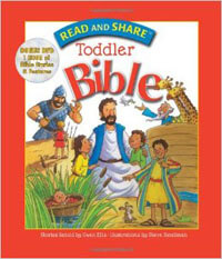 Read and Share Toddler Bible With DVD HC