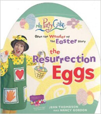 The Resurrection Eggs Glitter Board Book (Miss Patty Cake)