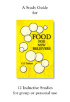 Food for New Believers Study Guide