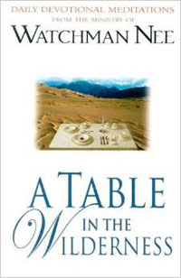 Table in the Wilderness Daily Devotional