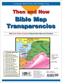 Then and Now Bible Map Transparencies