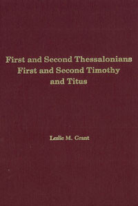 First & Second Thessalonians, 1 & 2 Timothy & Titus