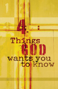Tract: 4 Things God Wants You to Know (ESV)