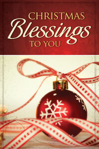 Tract: Christmas Blessings To You ESV (pkg25) Christmas