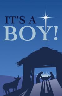 Tract: Its A Boy (ESV) Christmas