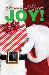 Tract: Season of Great Joy NIV - Christmas (pkg 25)
