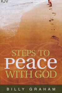 Tract: Steps To Peace With God KJV (pkg 25)