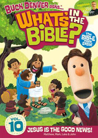 DVD Whats In The Bible #10 Jesus Is The Good News
