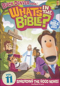 DVD Whats In The Bible #11 Spreading The Good News!