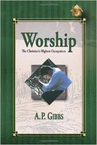 Worship The Christians Highest Occupation  ECS