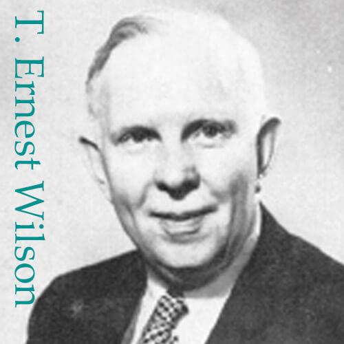 T. Ernest Wilson Titles