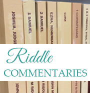 Riddle Commentary Series